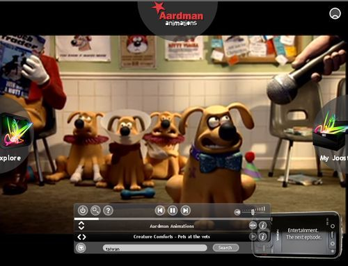 Joost: Aardman Animations - Creature Comfarts - Pets at the vets