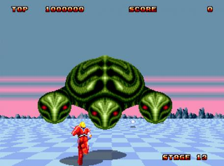 Space Harrier II 太空哈利2